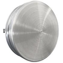 Toevoerventiel Ø100mm - Geborsteld RVS