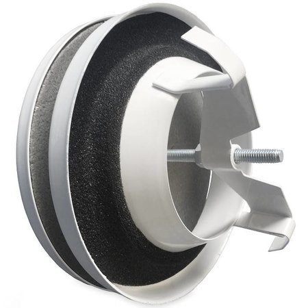 Toevoerventiel Ø160mm - WIT RAL 9016