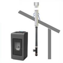 COMPLETE SET voor rookgas afvoer door dak (dakdoorvoer 20-45°)