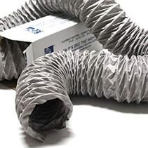 Niet-geïsoleerde PVC flexibele slang Ø82mm (binnenmaat) - 10 meter
