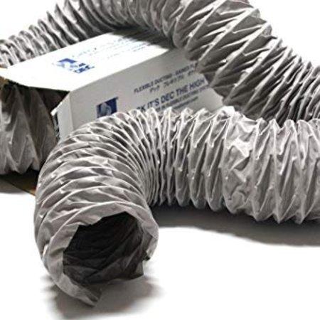Niet-geïsoleerde PVC flexibele slang Ø127mm (binnenmaat) - 10 meter