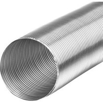Starre aluminium ventilatieslang rond Ø200mm (binnenmaat) - 3 meter