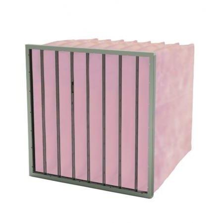 FilterFabriek Huismerk Zakkenfilter 288x288x600mm - 4 zakken – F7 klasse
