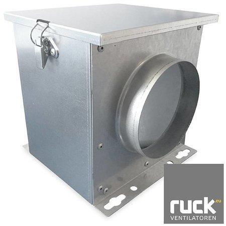 Filterbox Ruck Ø100mm - incl. filter - FV100