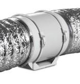 Blauberg TURBO-E-100T buisventilator -  met nalooptimer - Ø100mm