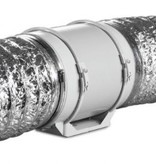 Blauberg TURBO-E-125T buisventilator -  met nalooptimer - Ø125mm