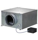 Blauberg ISO-B-125 boxventilator - 330 m3/h - Ø125mm