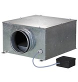 Blauberg ISO-B-250 boxventilator - 1300 m3/h - Ø250mm