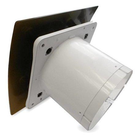 Pro-Design Badkamer/toilet ventilator - standaard - Ø100mm - goud