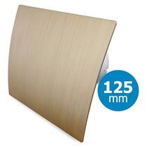 Badkamer/toilet ventilator - standaard - Ø125mm - goud