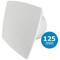 Badkamer/toilet ventilator - standaard - Ø125mm - bold-line wit