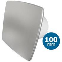 Badkamer/toilet ventilator - standaard - Ø100mm - bold-line RVS