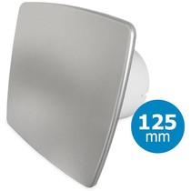 Badkamer/toilet ventilator - standaard - Ø125mm - bold-line RVS
