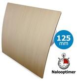 Pro-Design Badkamer/toilet ventilator - met timer - Ø125mm - goud