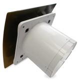 Pro-Design Badkamer/toilet ventilator - met timer & vochtsensor - Ø100mm - goud