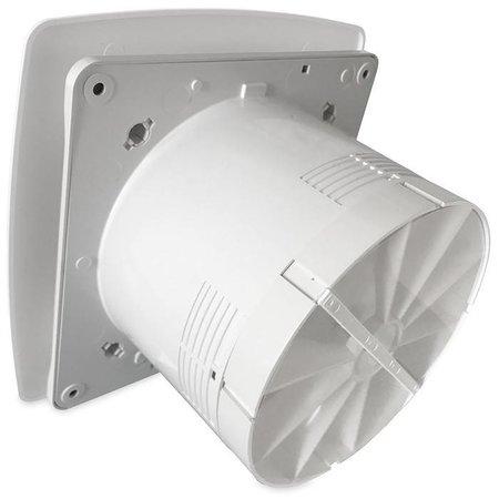 Pro-Design Badkamer/toilet ventilator - met timer - Ø125mm - bold-line