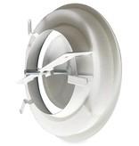 Rooster/ventiel Ø160mm staal - afvoer - met veer
