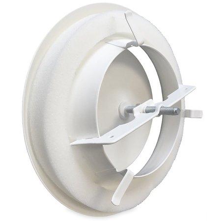 Rooster/ventiel Ø80mm staal - toevoer - met veer