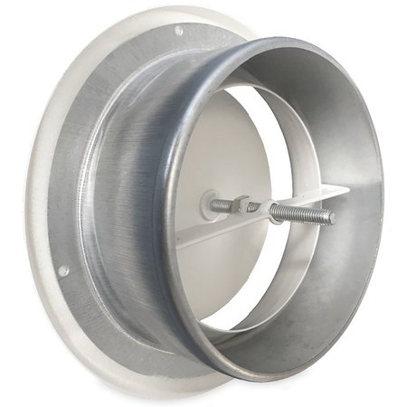Rooster/ventiel Ø150mm staal - toevoer - met bus