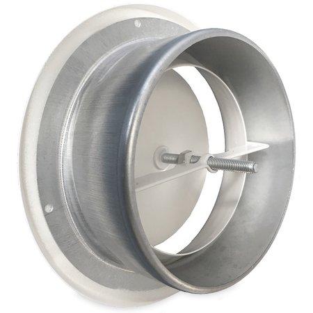 Rooster/ventiel Ø200mm staal - toevoer - met bus