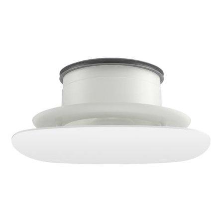 Duco Duco Ducovent Design afgerond vierkant XL ventilatieventiel wit 125 mm