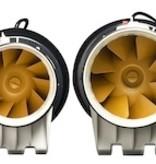 Whisper 'Gold Line' buisventilator - Ø150mm - met timer