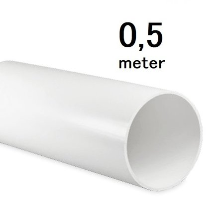 ventilatiebuis - rond Ø100mm - L=500mm