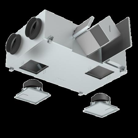 Orcon WTW WTU-800-EC-E - Ø250mm - 800m3/h