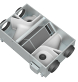 Orcon WTW WTU-2000-EC-E - Ø355mm - 2000m3/h