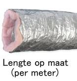 Geïsoleerde flexibele slang - Ø82mm - aluminium