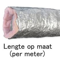 Geïsoleerde flexibele slang - Ø102mm - aluminium