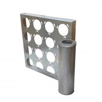 Koolframe 610x305mm - staal