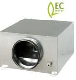 Blauberg ISO-B-125EC boxventilator met EC-motor - 357m3/h - Ø125mm