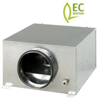 ISO-B-125EC boxventilator met EC-motor - 357m3/h - Ø125mm