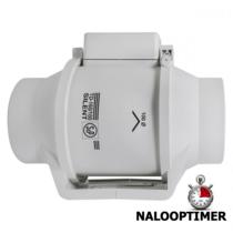 Buisventilator TD-160/100 NT Silent NALOOPTIMER aansluitdiameter 100mm
