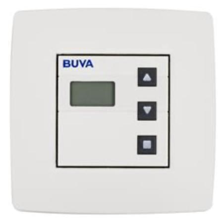 Buva Buva Q-Stream 1.0 draadloze keuken- / badkamerbediening, laag model (batterijvoeding)