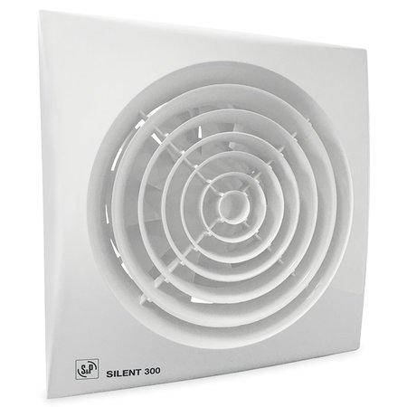 Soler & Palau S&P Silent 300 CZ aan/uit Badkamer/ toilet ventilator - Ø150mm