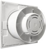 Soler & Palau S&P Silent 300 CHZ -TIMER & VOCHTSENSOR- Badkamer/ toilet ventilator - Ø150mm