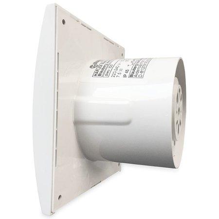 Blauberg Blauberg badkamer/toilet ventilator SILEO 12 VOLT - Ø100mm