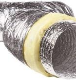 Geïsoleerde flexibele slang - Ø80mm - 6 meter - aluminium