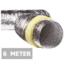 Geïsoleerde flexibele slang - Ø100mm - 6 meter - aluminium