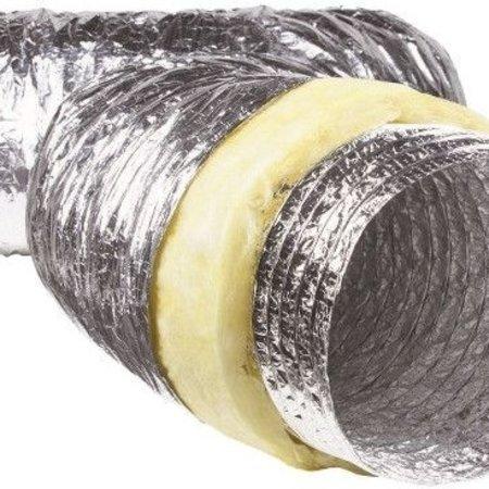 Geïsoleerde flexibele slang - Ø180mm - 1 meter - aluminium