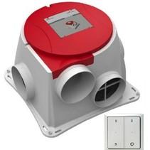 Stork Comfofan S R ventilator + RFT ontvanger - euro stekker