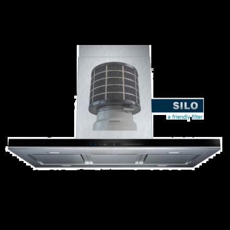 PuriVent PuriVent SILO filter voor afzuigkap met schacht - 350 m3/h - Ø120mm