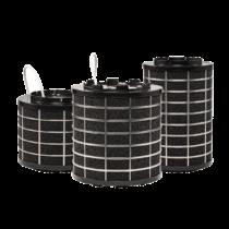 SILO filter - afzuigkap met schacht - 550 m3/h - Ø120mm