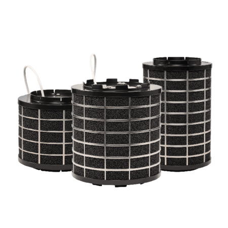 PuriVent PuriVent SILO filter voor afzuigkap met schacht - 500 m3/h - Ø150mm