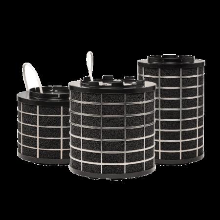 PuriVent PuriVent SILO filter voor afzuigkap met schacht - 1000 m3/h - Ø150mm