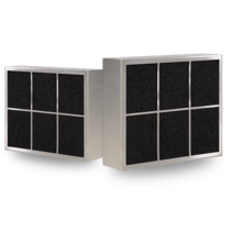 CARRE filter - inbouw afzuigkap - 500 m3/h - 210 x 250mm -  Ø150mm