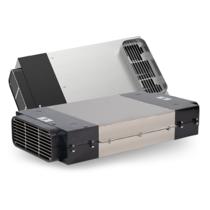DOMINO filter - kookplaat met ingebouwde afzuiging - 400 m3/h - 220 x 90mm