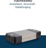 PuriVent PuriVent DOMINO filter voor kookplaat met ingebouwde afzuiging - 800 m3/h - 220 x 90mm